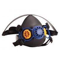 Reusable half masks